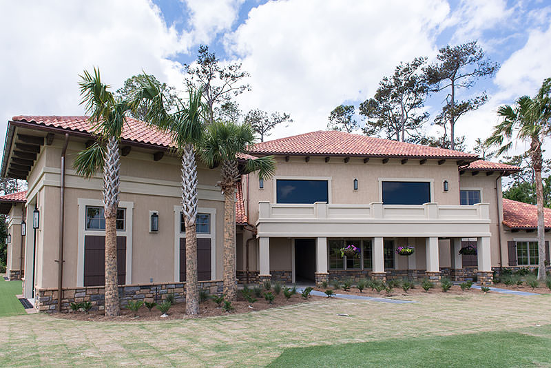 Custom home builders in Jacksonville FL, Ponte Vedra and Beaches highlighting the TPC Performance Center Building by Alesch Contracting